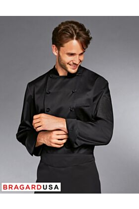 Bragard Grand Chef Allure Black - Chef Jacket
