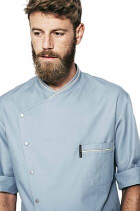 Chicago Chef Jacket - Blue