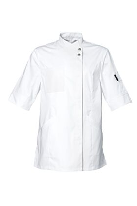 Verana Female Chef Jacket - White