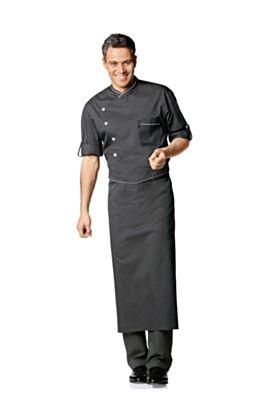 Bragard Omera Chef Apron - Charcoal