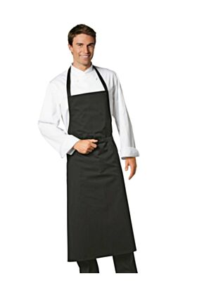 Bragard Travel Bib Apron Black