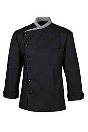 Bragard Juliuso Chef Jacket Black Long Sleeves