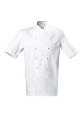 Grand Chef Jacket (Short Sleeve Chest Pocket)