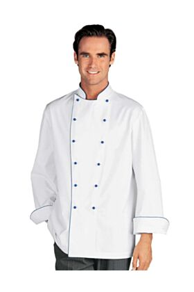 Bragard Narvica Chef Jacket With Plastic Colored Buttons