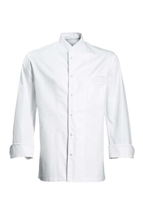 Eric Ripert Chef Jacket - White with No Piping