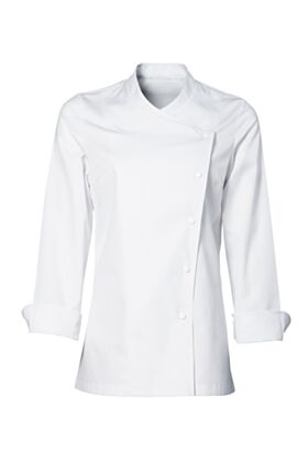 Julia Female Chef Jacket White