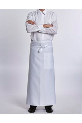 Bistro Chef Apron - White