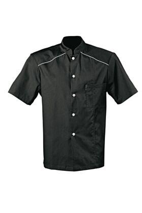 Kansas HW Chef Jacket - Black