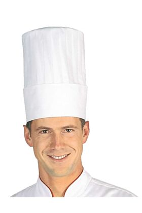 Bragard Milon White Chef Hat 10 Inch Toque Headgear