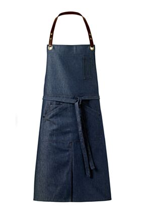 Graff Bib Apron - Denim Blue Jeans - StillLife