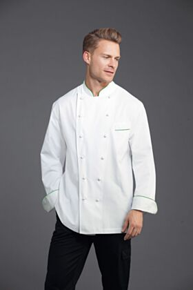 Bragard Perigord Chef Jacket Green