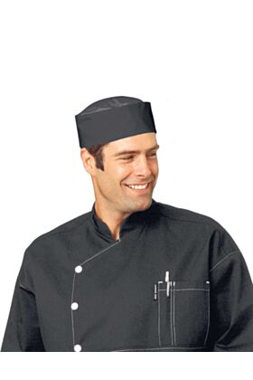 Bragard Douga Chef Cap with Mesh Top headgear
