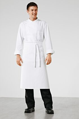 Bragard Carpath Waist Apron White 31 Inches Height