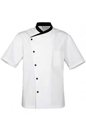 Juliuso Chef Jacket - White - Short Sleeves