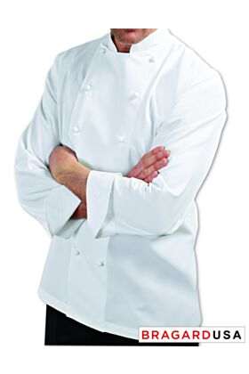 Bragard Grand Chef Long Sleeve with Chest and Sleeve Pocket