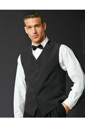 Bragard Odo Lined Black Vest