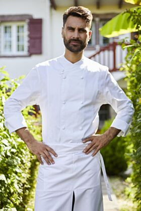 ALOIS CHEF COAT - WHITE