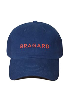 6-Panel Twill Cap - Blue with Bragard Embroidery