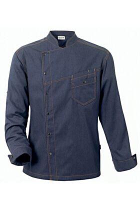 Bragard District Chef Jacket - Blue Denim