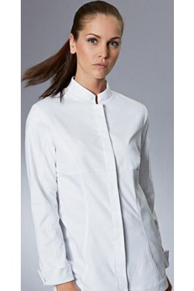 Impulse Womens Fitted Chef Jacket - White