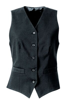 Bragard Oda Unlined Ladie's Black Vest