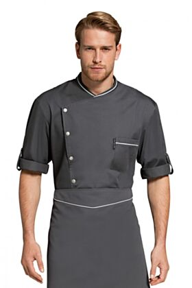 Chicago Chef Jacket - Charcoal